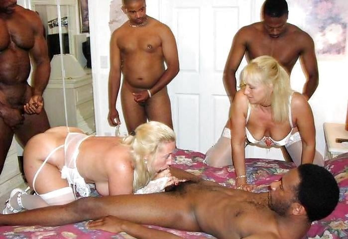 WHITE WIVES LIKE BLACK COCK 112 - 59 Pics