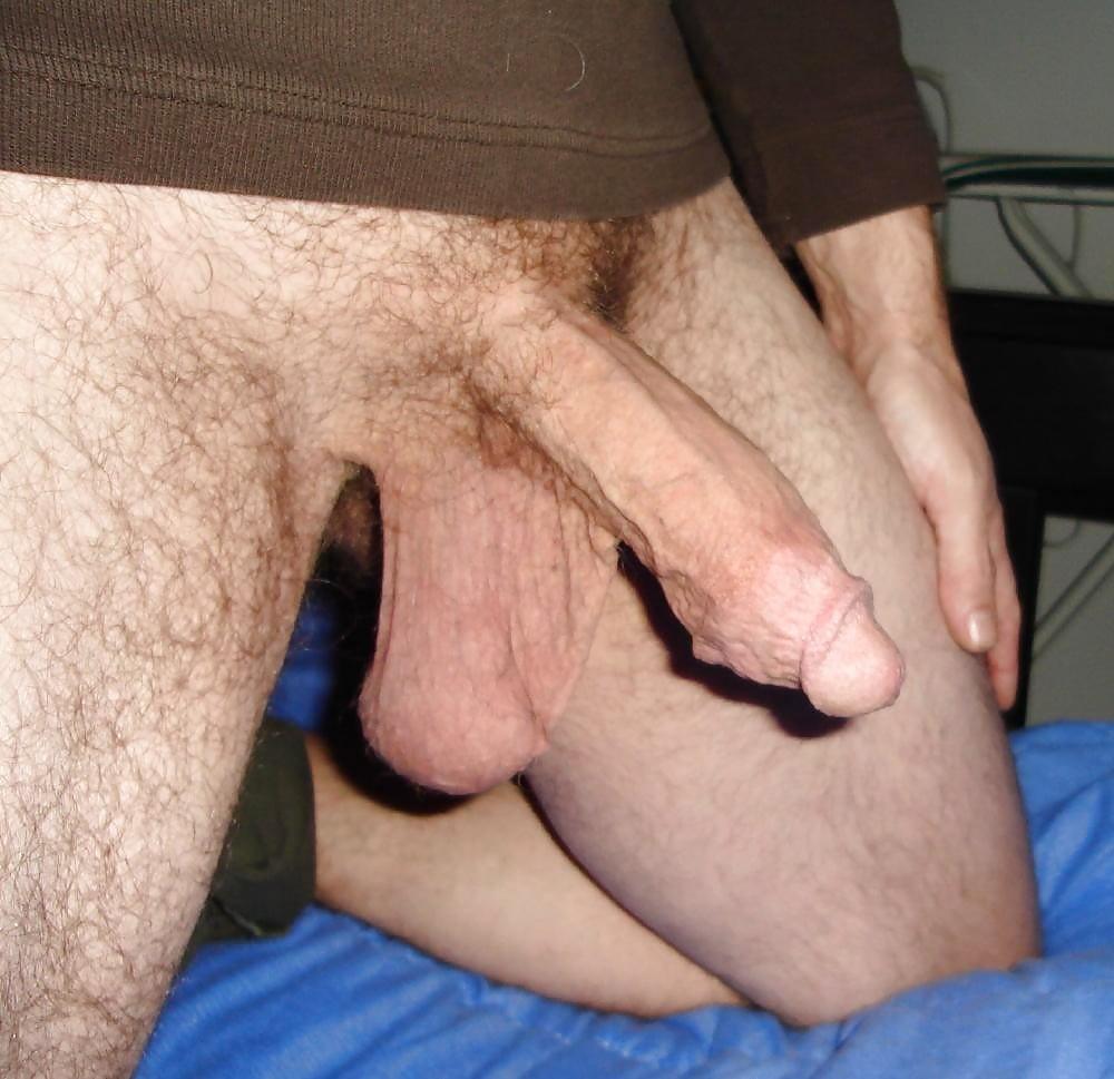 Teen guy got his dick hanging down