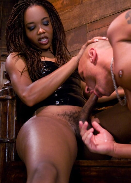 Black dominate shemale movies — 14