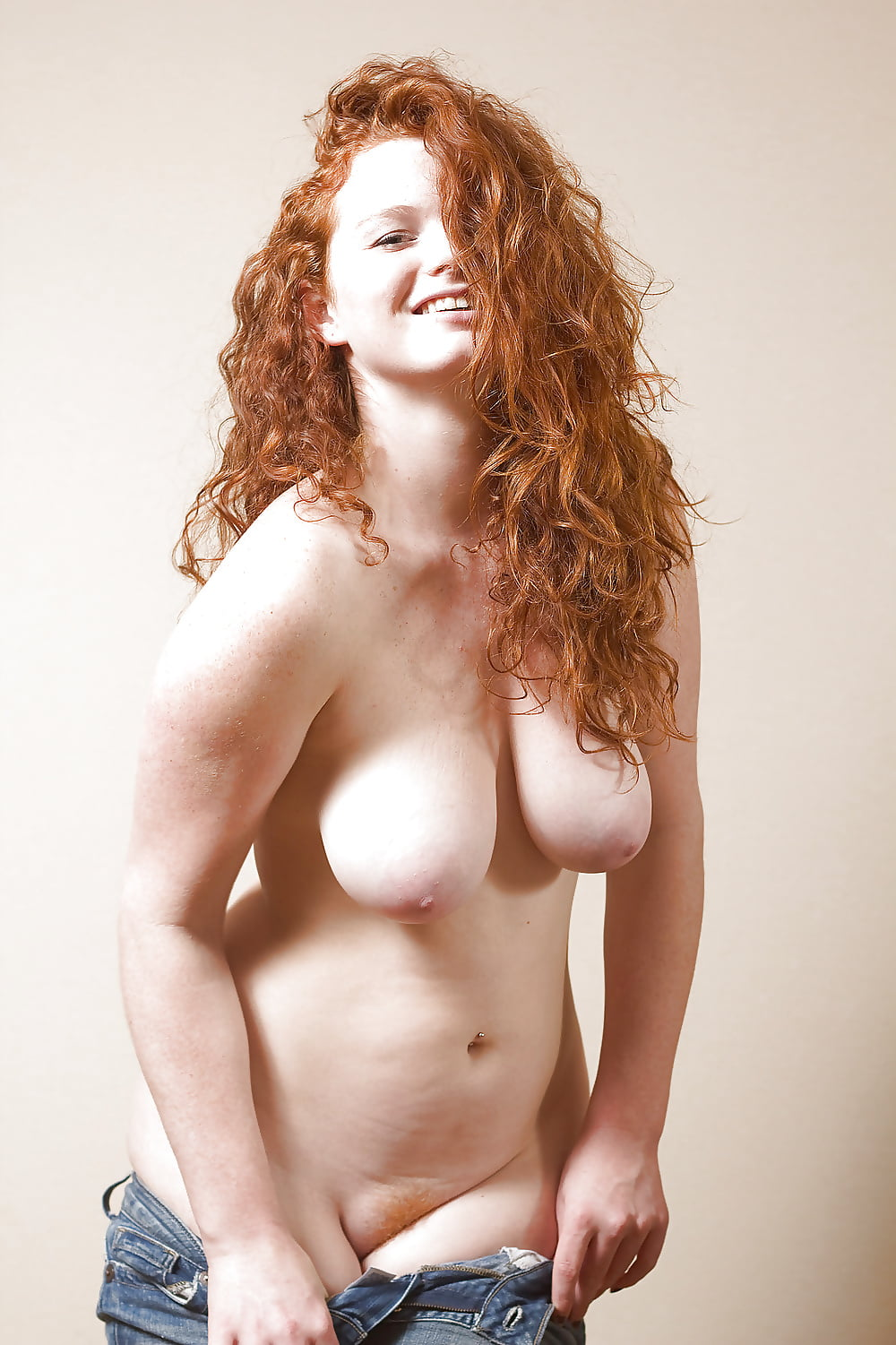 Nude redhead thick