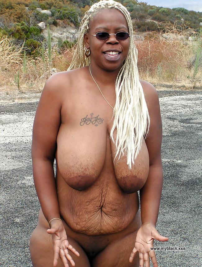 Ebony big tits older women