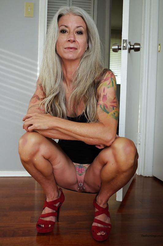 Carol brown granny grey hair nude gif famous naked