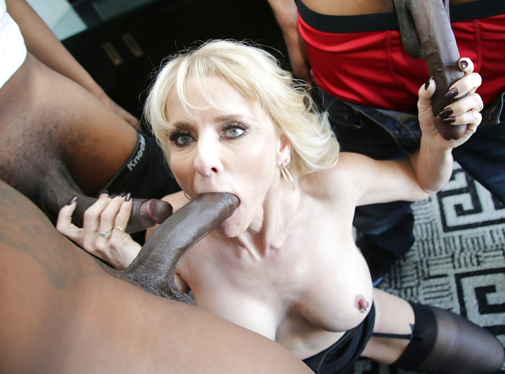 White blonde milfs black cocks hot sexy