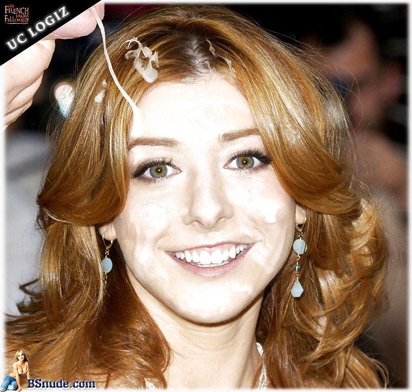 Alyson hannigan facial 12