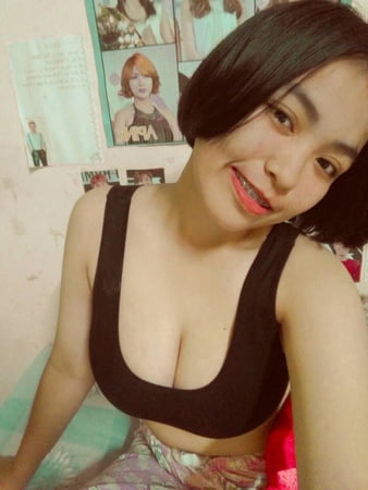 cute thai teen student big boobs