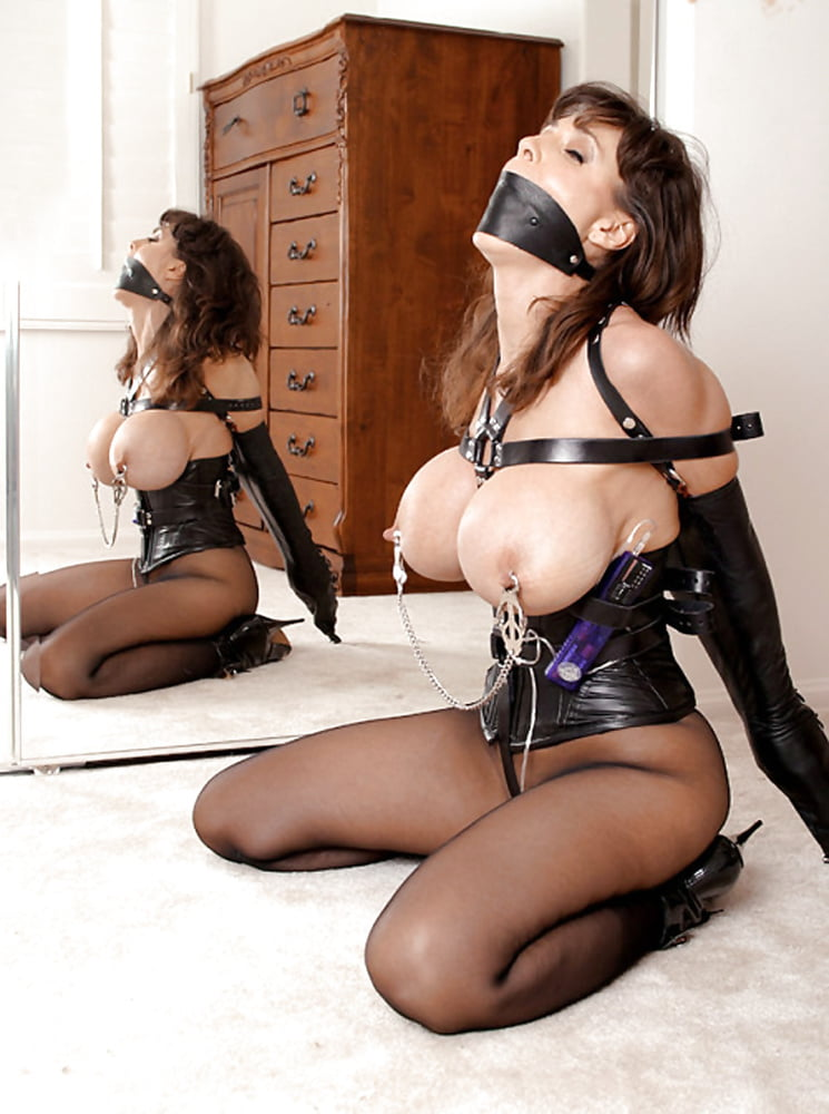 Lesbian femdom stockings corsets