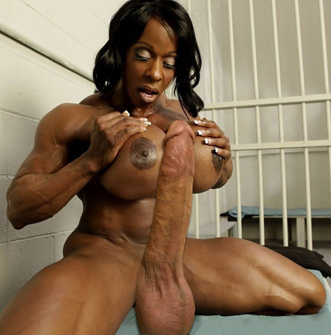 Dark black muscular nude tranny, juicy pearl xxx