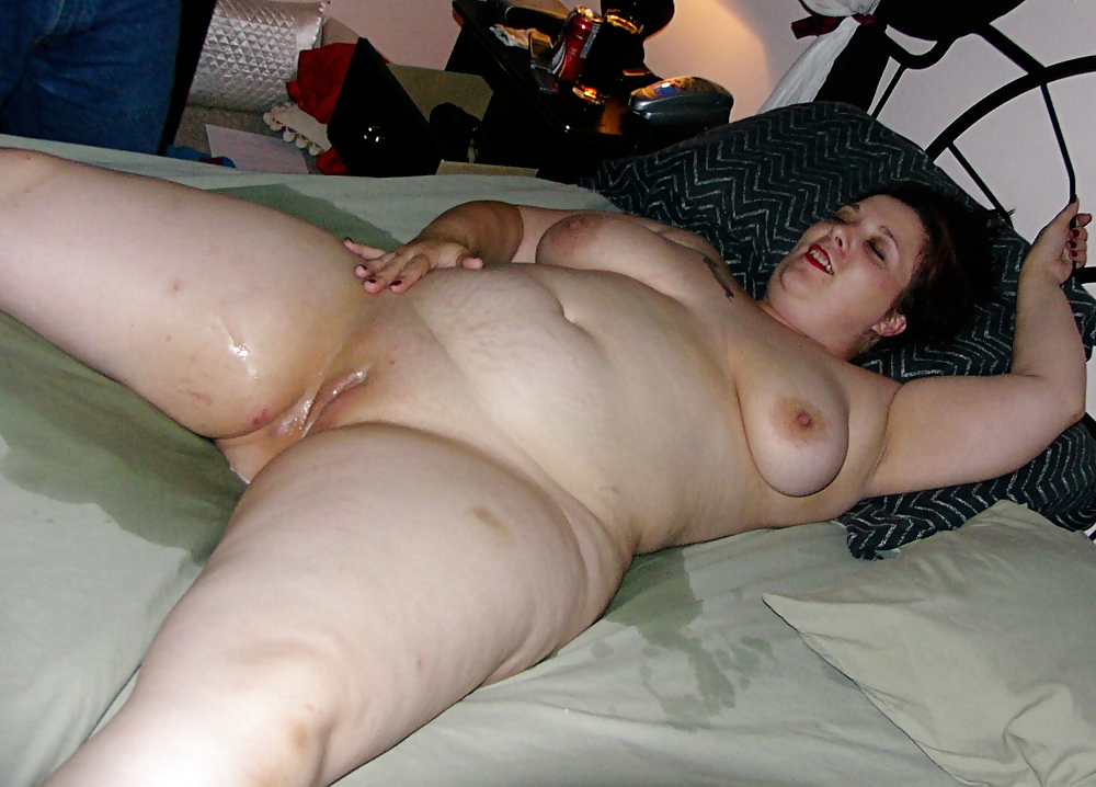 Bbw filled with cock and semen