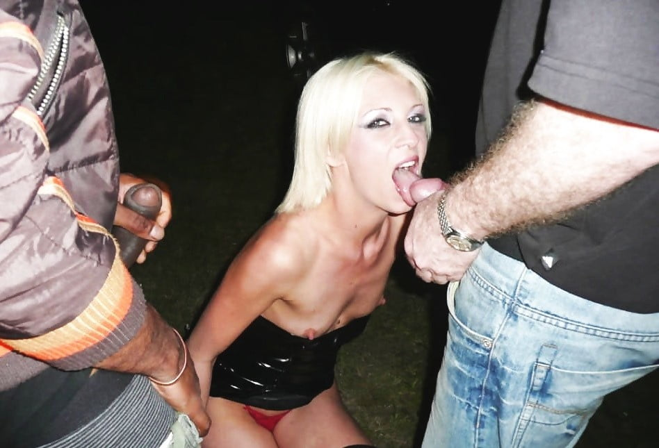 Dirty Whore Gets Hosed Down And Humiliated