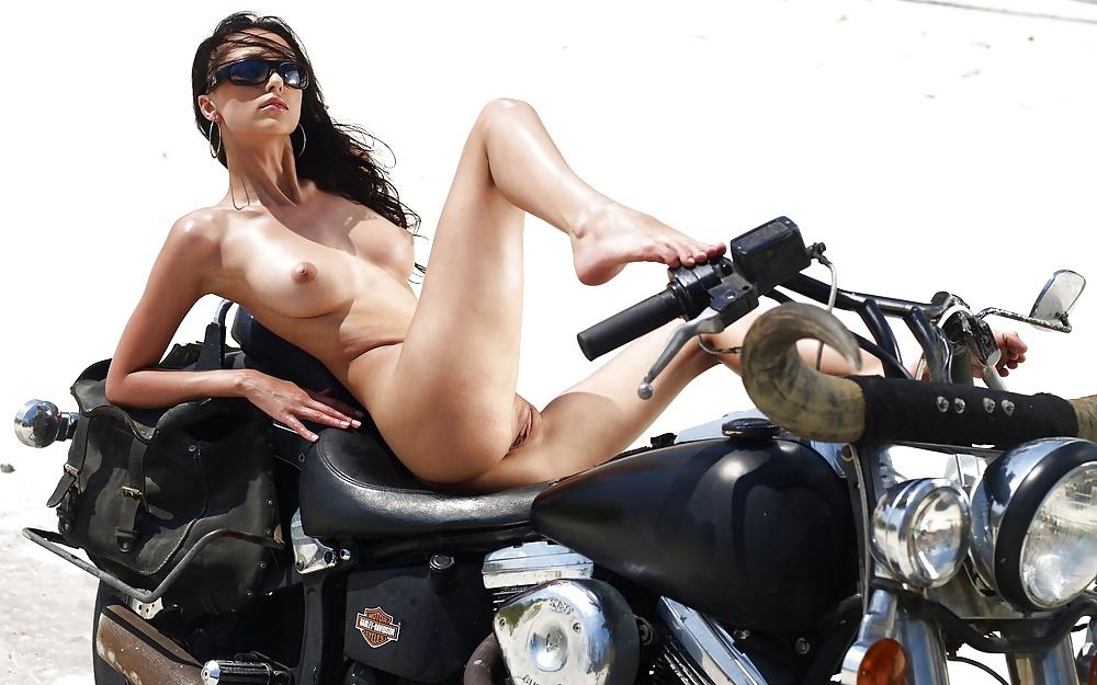 Bike with girl-1504