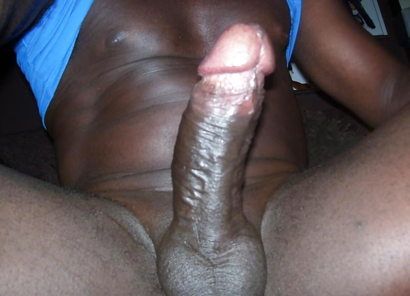 Black penis cumming in girl
