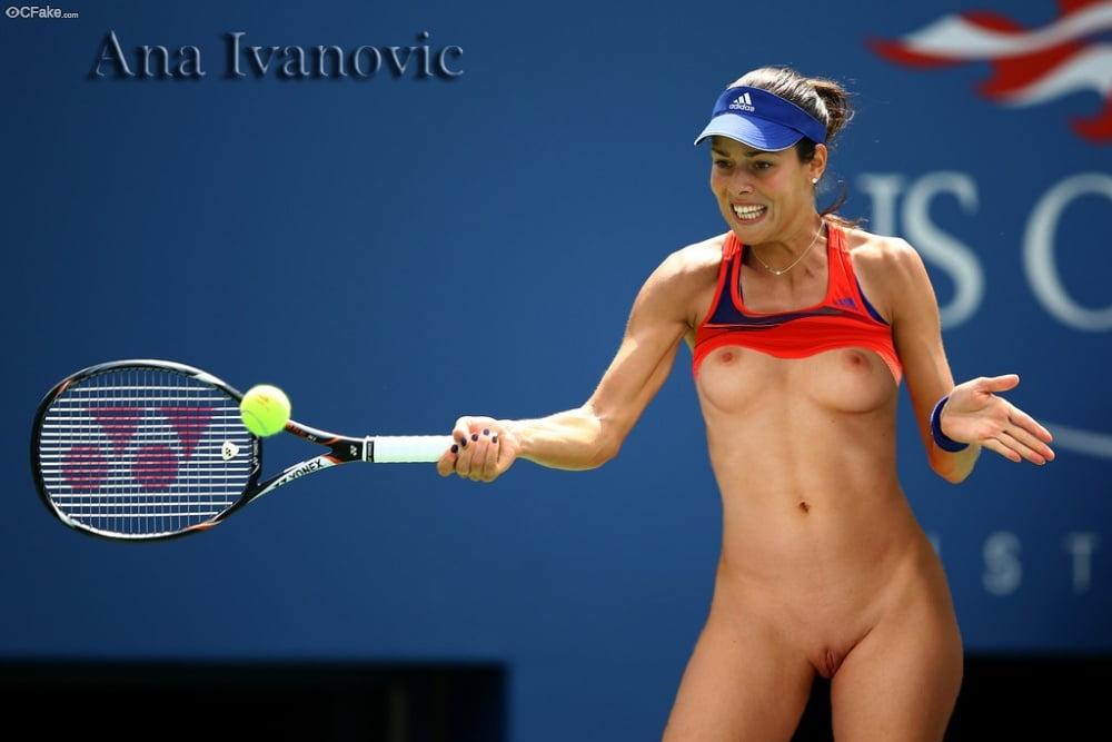 Women tennis players nude