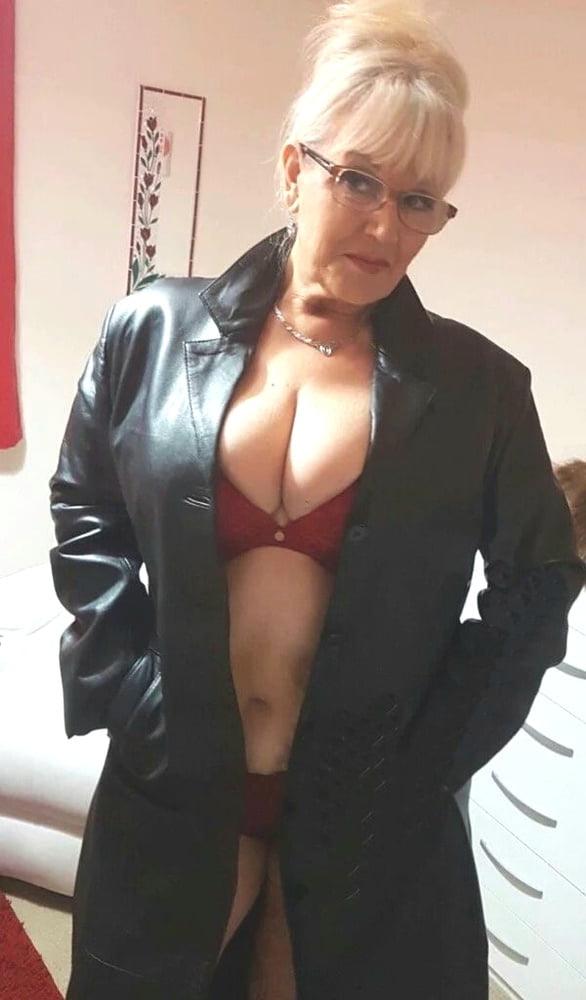 Granny Leather Porn