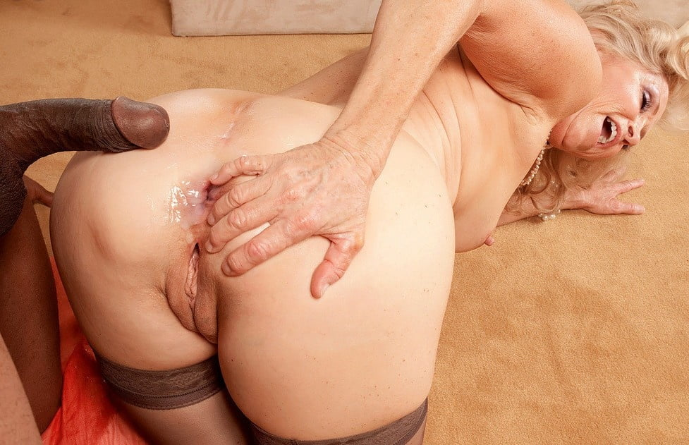 Horny Grandma With A Big Ass Gets