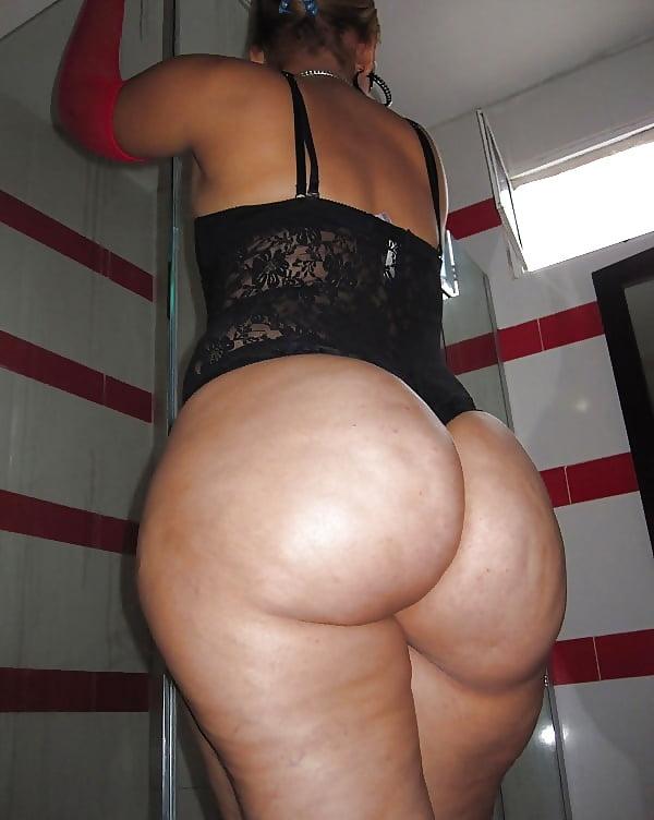 Ass big round thick