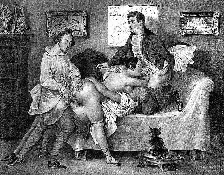Порно под старину веков #9