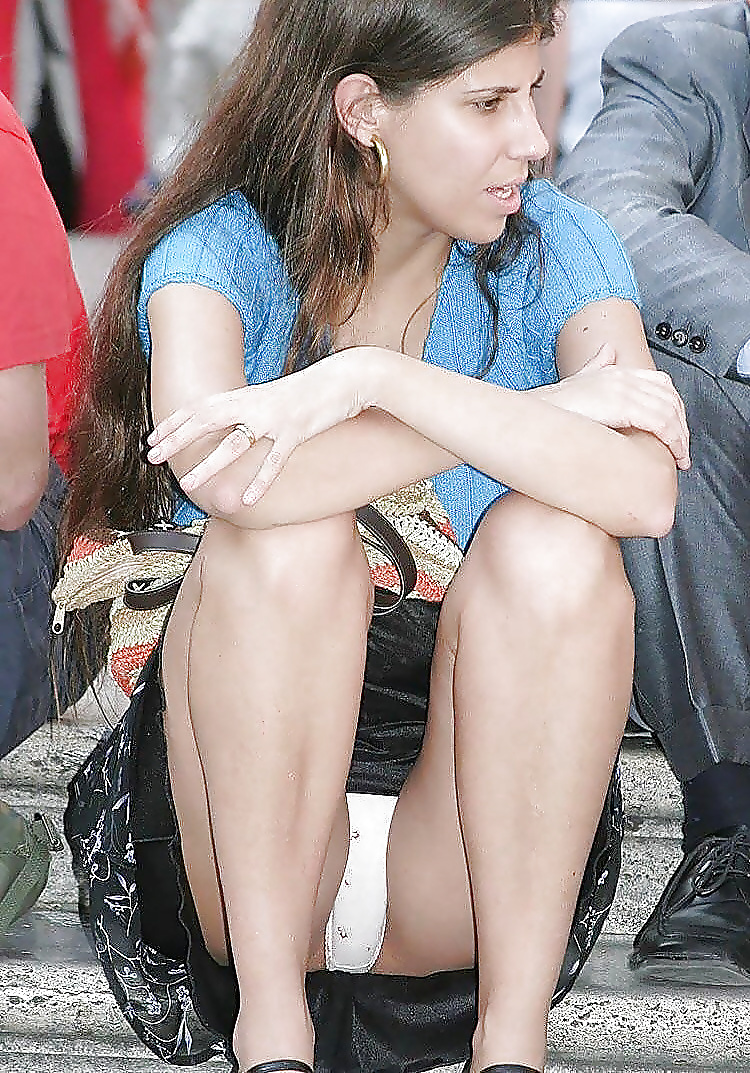 Young catholic candid upskirt photos — pic 7
