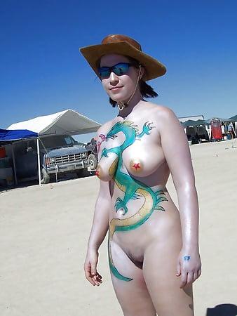 Ideal Naked Burning Man Pics Images