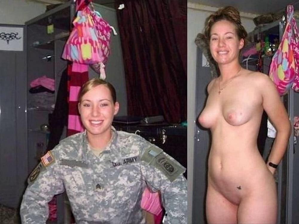 Nude military women army girls