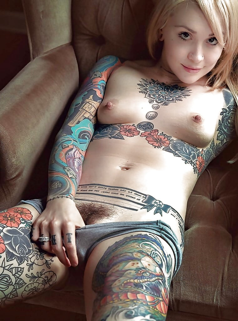 Nude tattoo girl hot as fuck