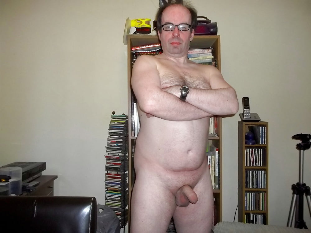 Nerd boy with big cock