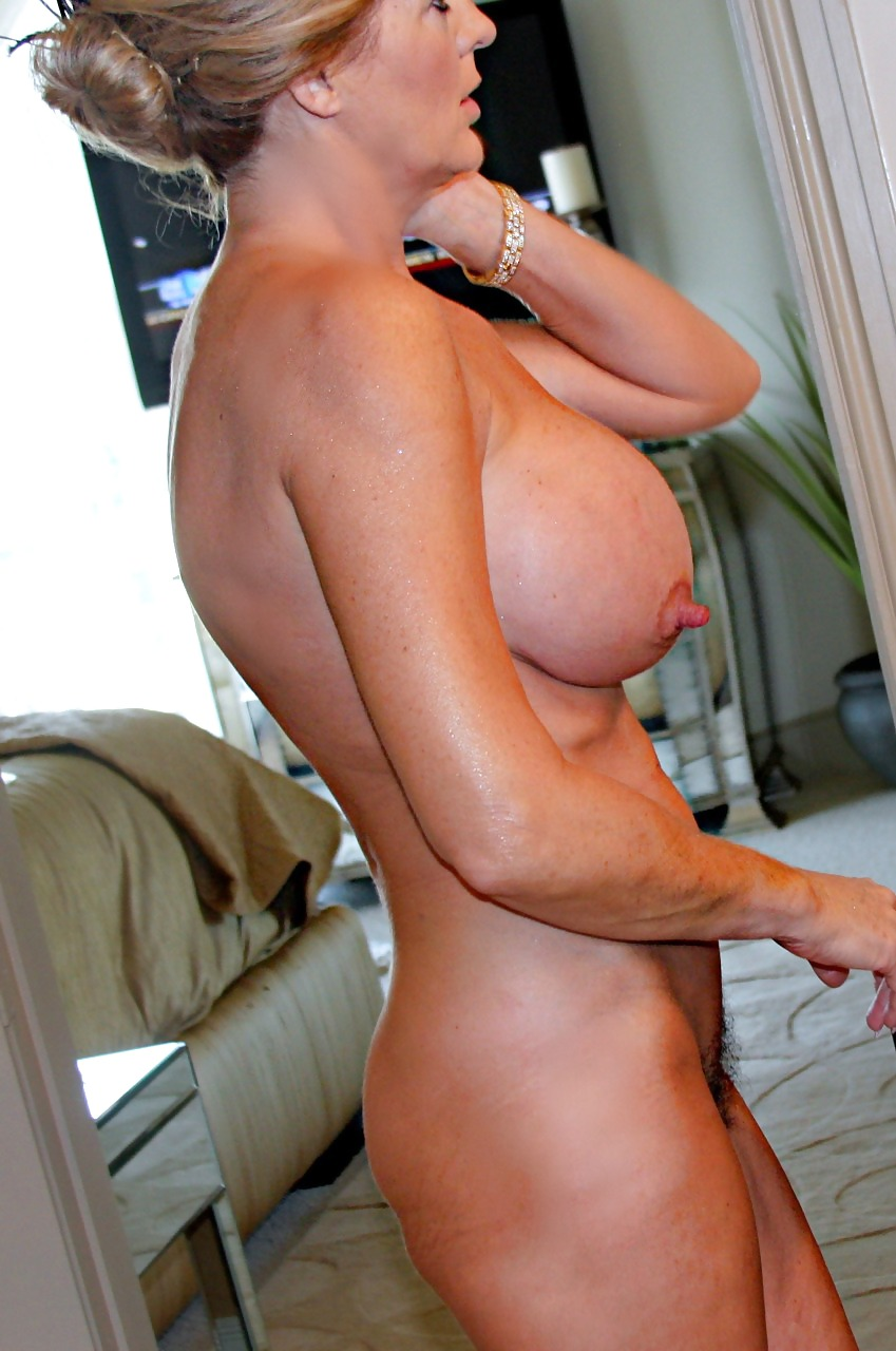 My mums boobs-9476