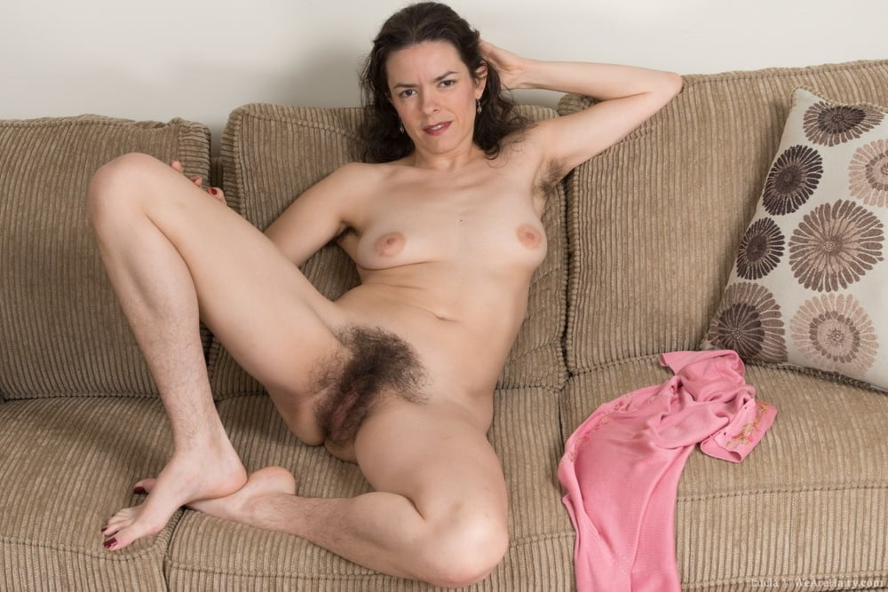 Hairy nude women laying down 2