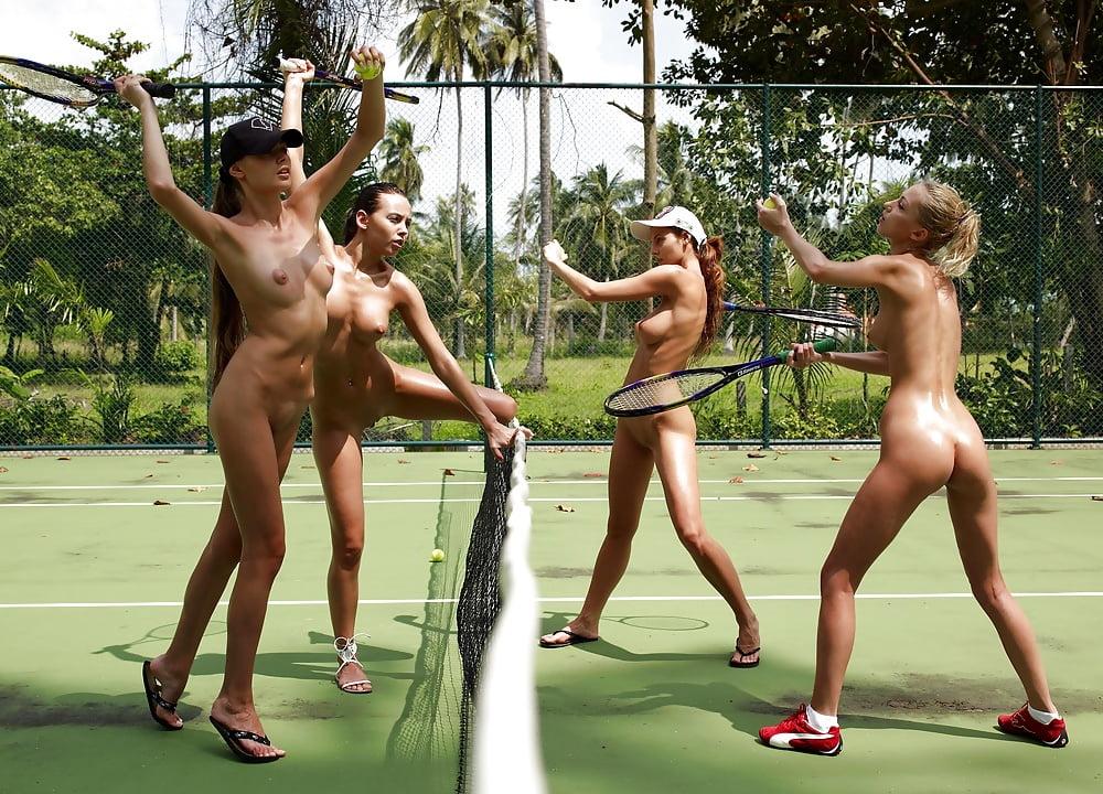Nude sports college folk dancing