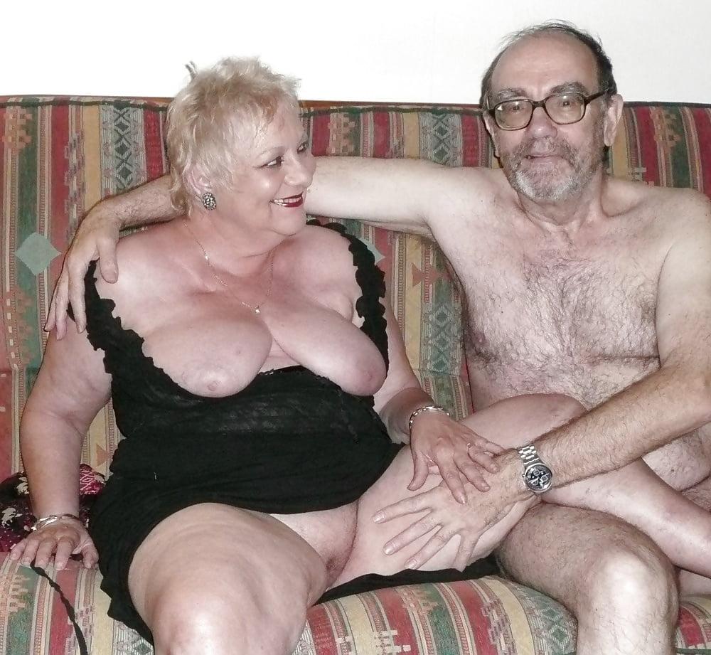 Grandmother watch naked grandson