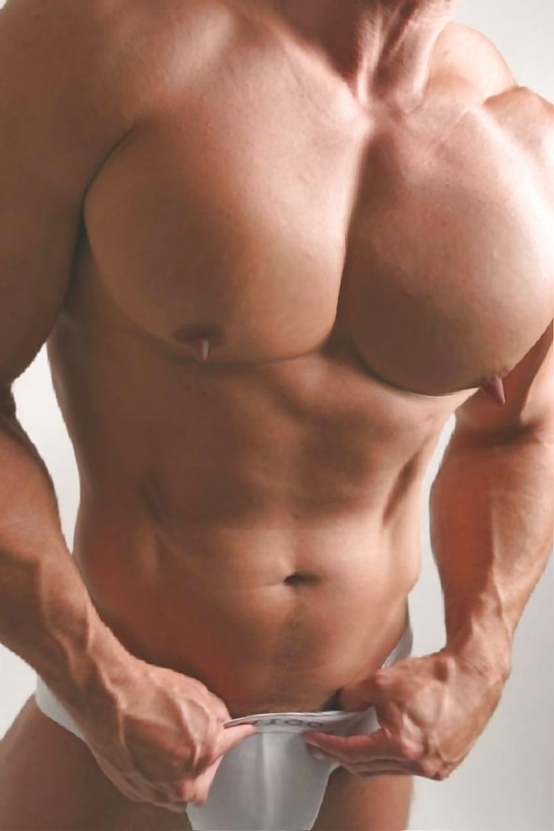 Erect dick nipple