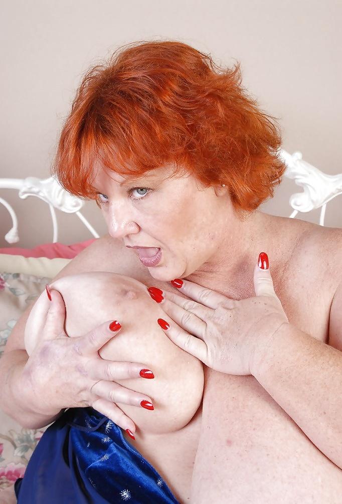 Mature granny redhead videostures — 4