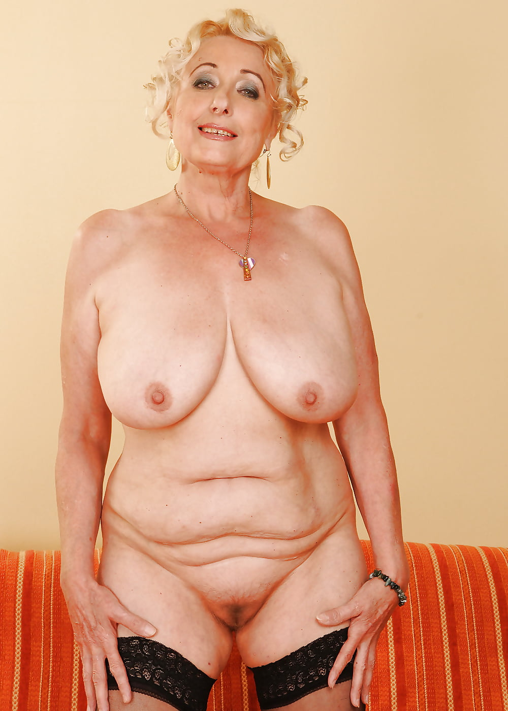 Having accidental slim old grandma nude
