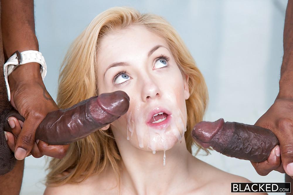Teens share huge cock facial cumshots