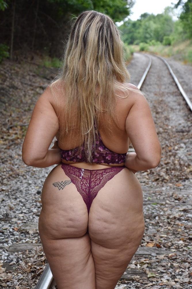 Bbw Blonde Fat Ass