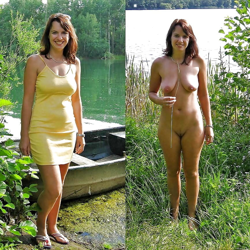 Clothed then naked photos 1