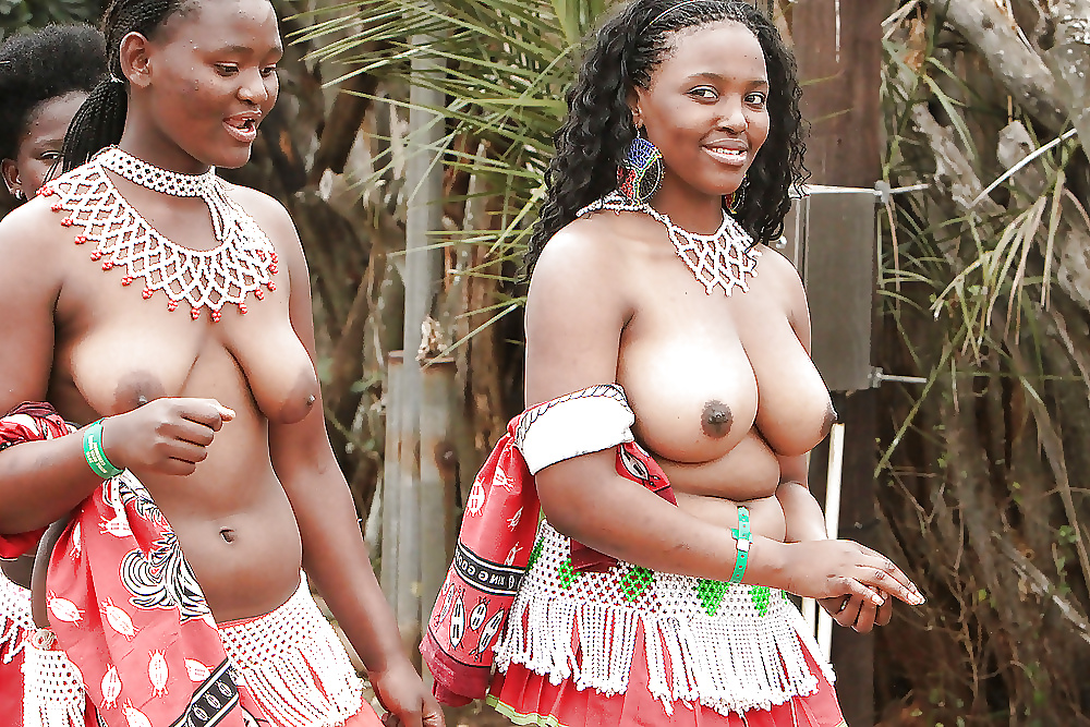 Africa girls boobs