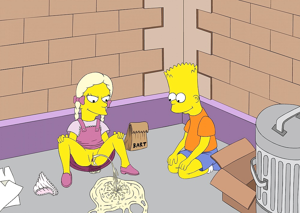 Bart simpson sucking cock cartoon pics — 2