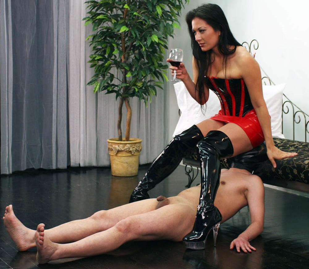 Busty money slave mistress financially fucks cash pigs in chat