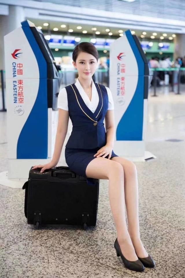 Asian air hostess - 36 Pics