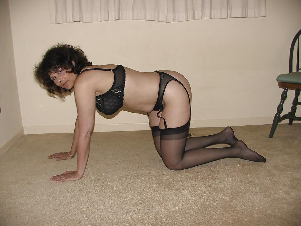 Sexy black lingerie dress-7121