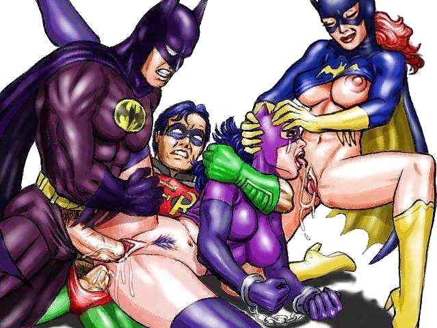 Marvel Super Heroes Gay Porn