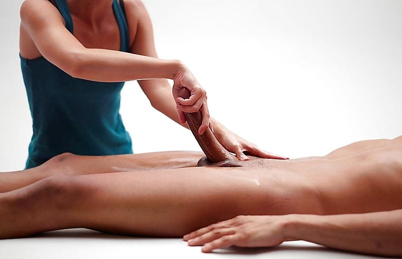 массаж члена у мужчин - 11
