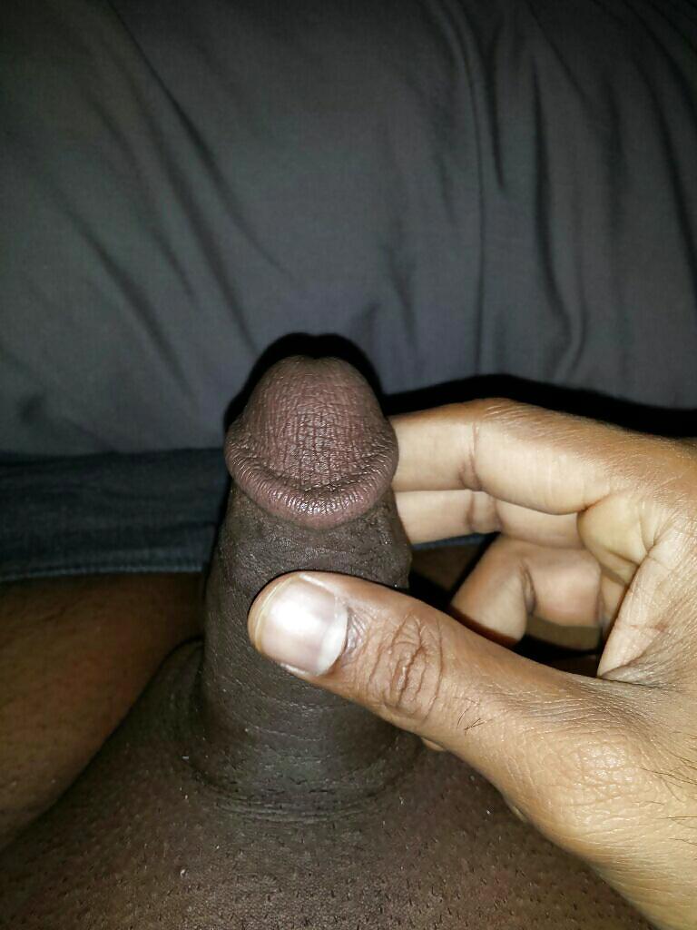 Black man small cock