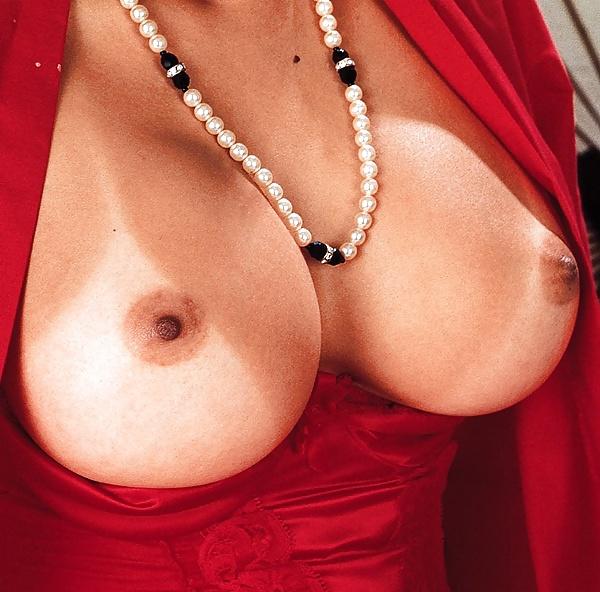 Black pearl boobs thumbs