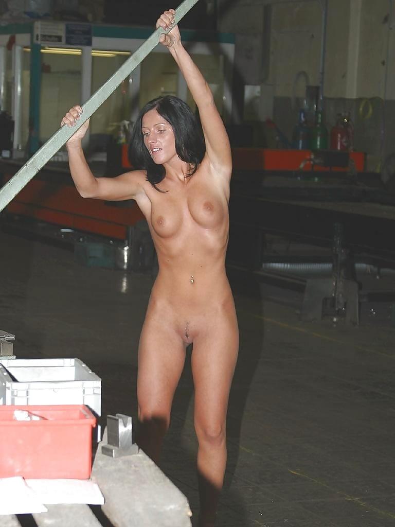 Naked at work xhamster