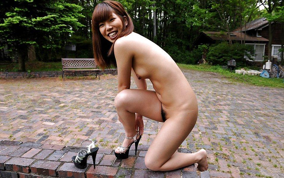 Kurumi morishita asian model poses nude