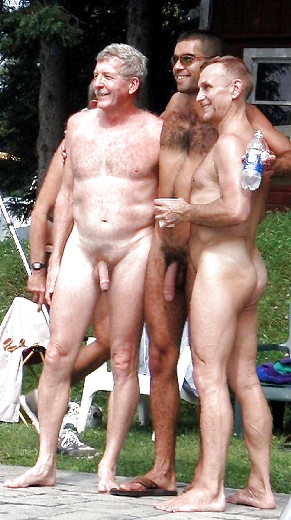 Nude daddy son