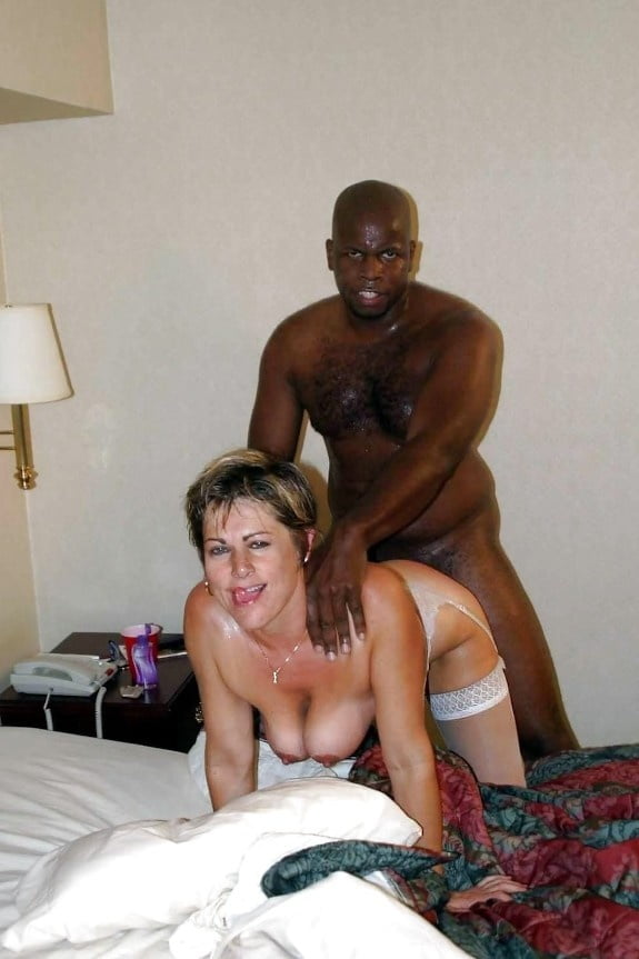 Black milf white dick