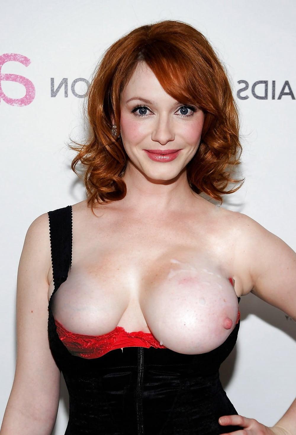 Big tits celebrities — 9