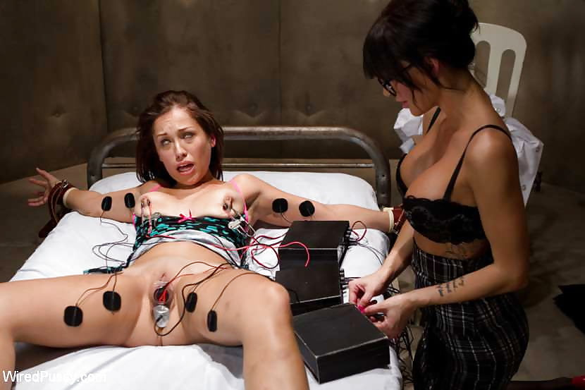 Electric sex girl, nice woman nacked body